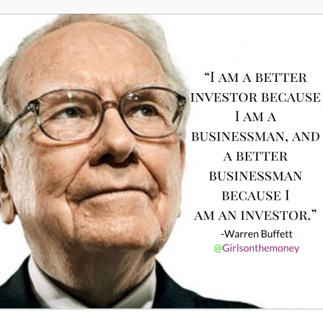 Warren Buffett Investor Quote