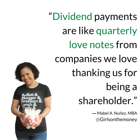 DIVIDENDS QUOTE