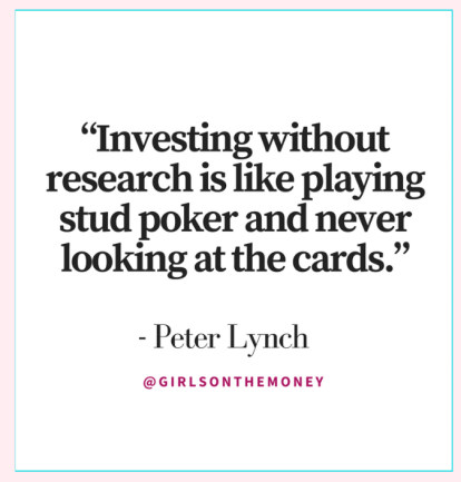 INVESTING WITHOUT RESEARCH